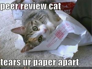 Peer Review Cat