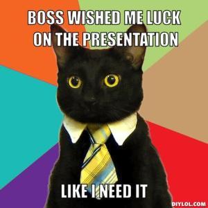 business-cat-luck